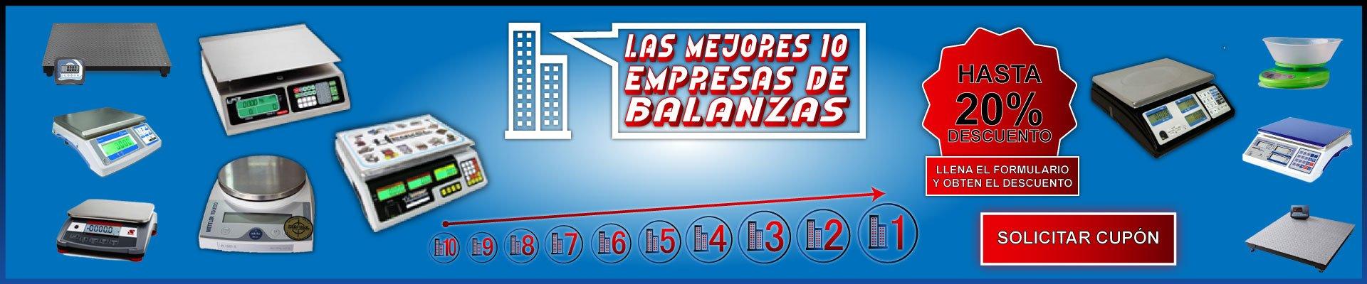 20% de Descuento en Balanzas